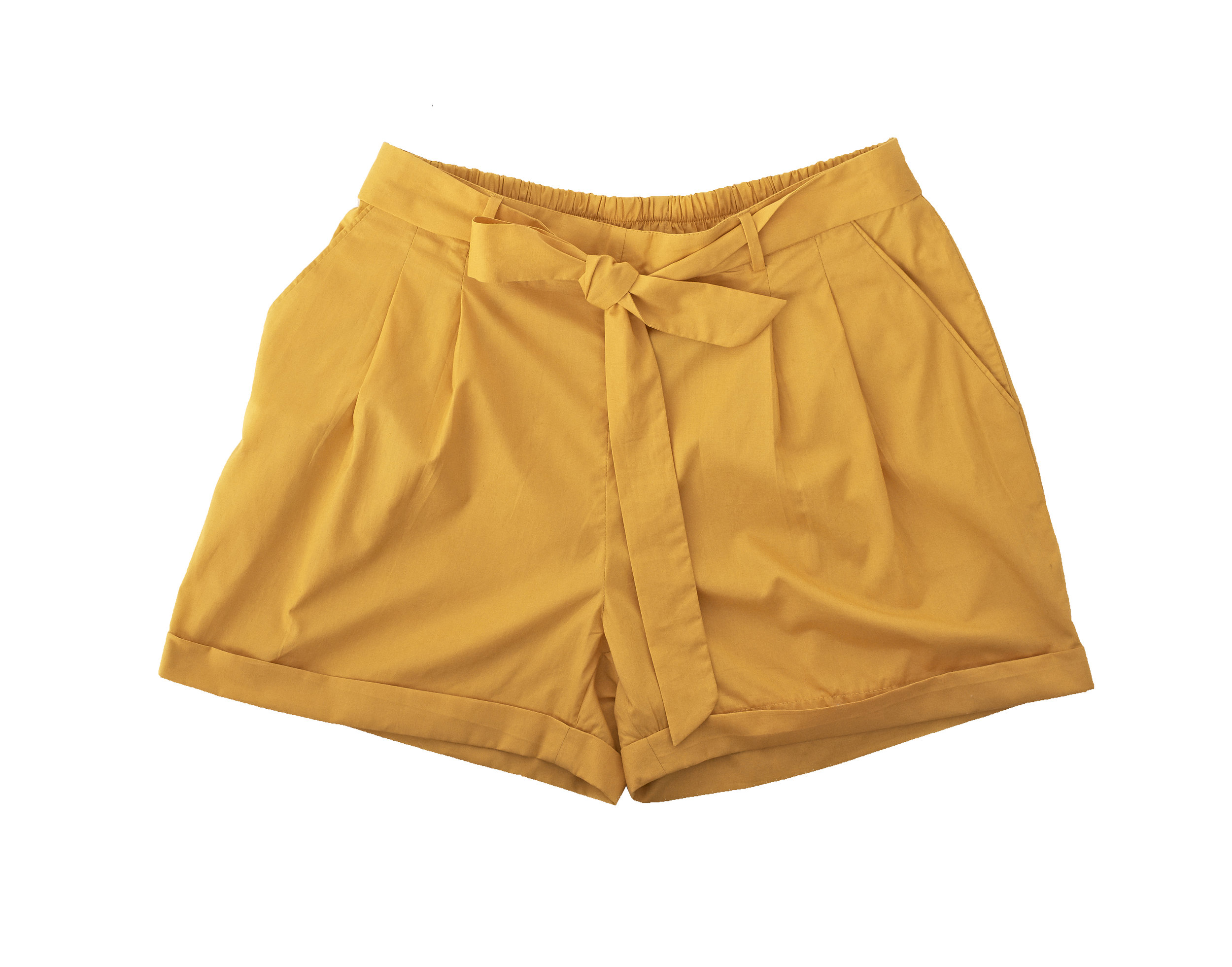 Half waist butterfly short. Colors available