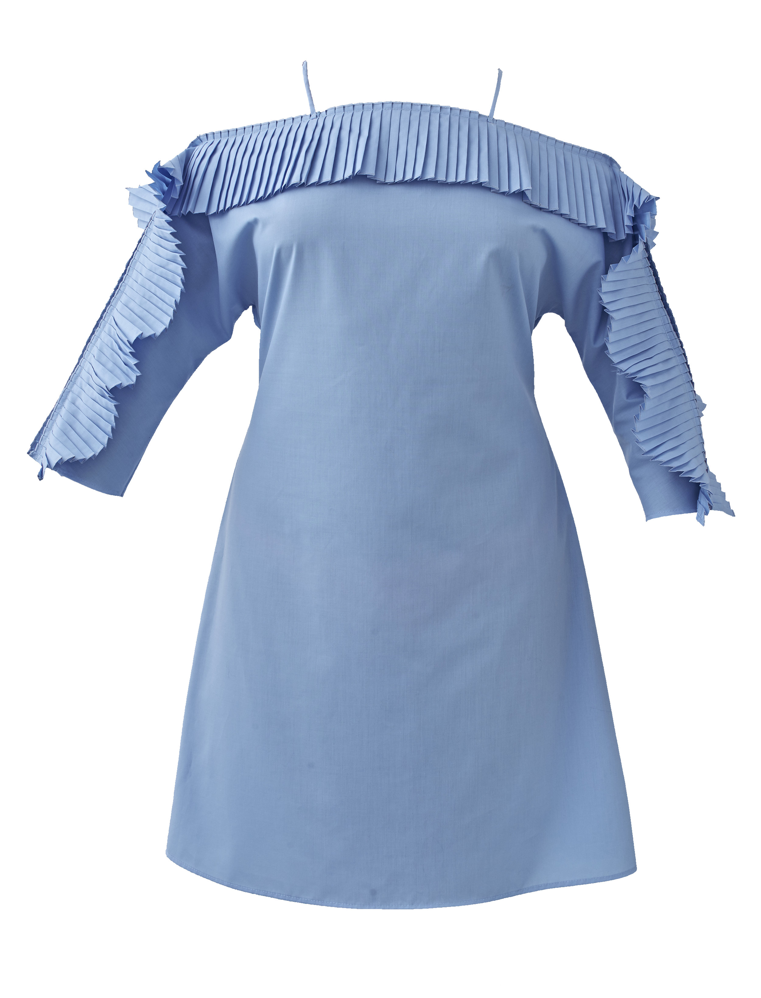 Dress with flown sleeves Colors available