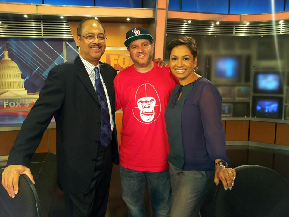 After placing top ten in the world online Dj Championships I was able to Dj on Fox 5 News.