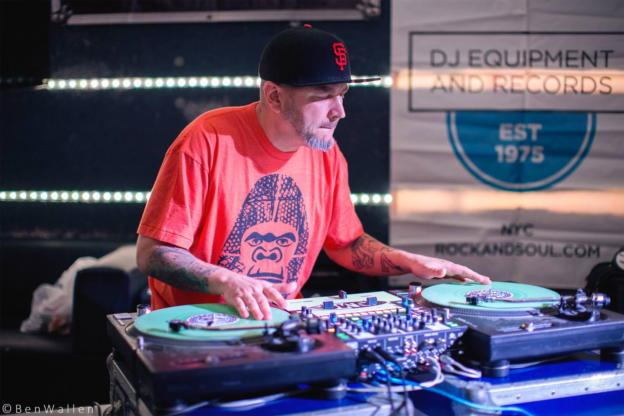 2017 DC DMC dj battle Finalist. It had been a while the nerves were flowin. Shout out to Ben for the pic.