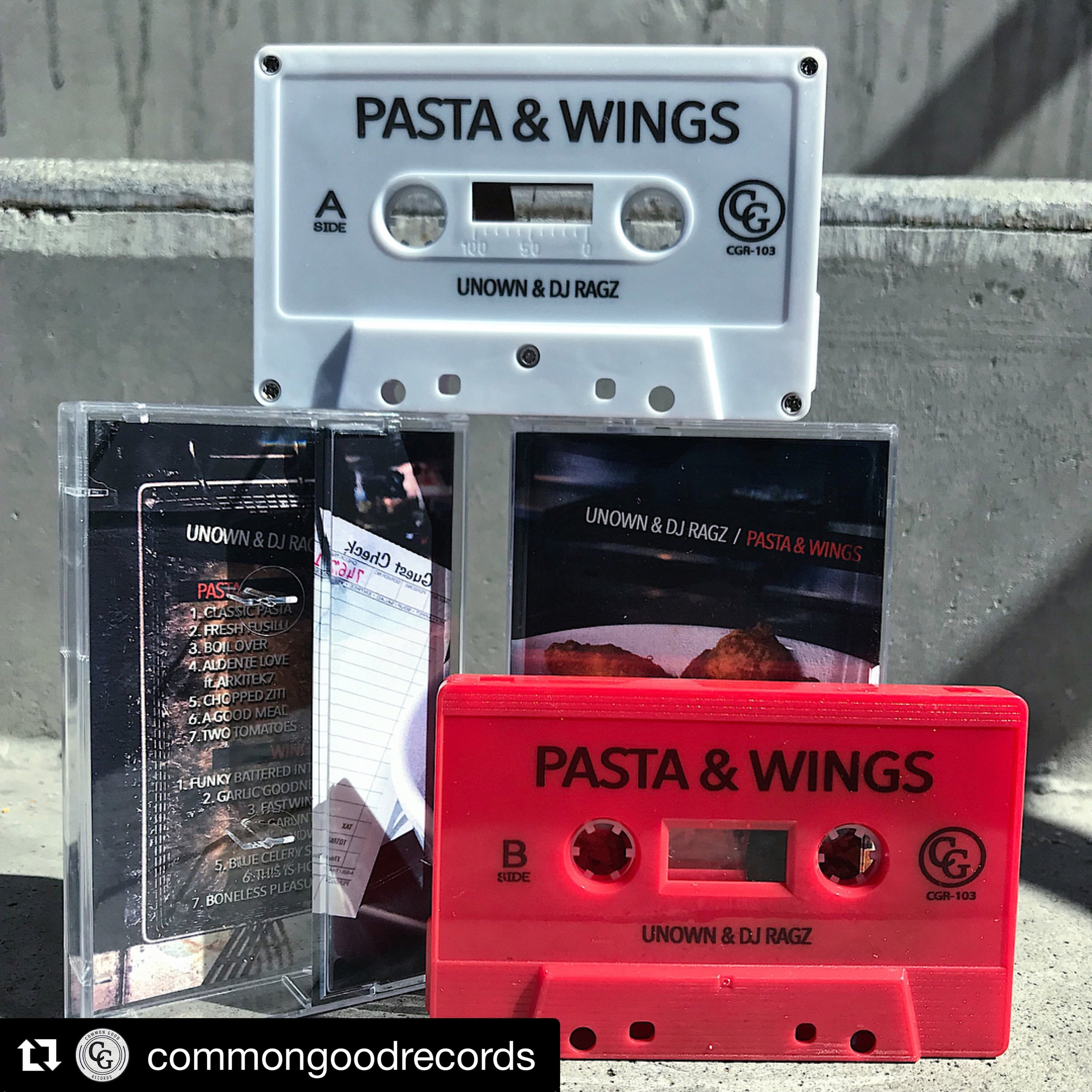 We have a food series on CG Records. 1st of many to come. Foodie music with myself and Unown