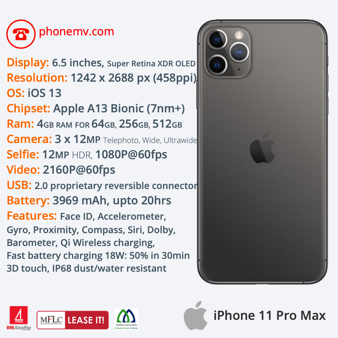 how much is the iphone 11 pro cost