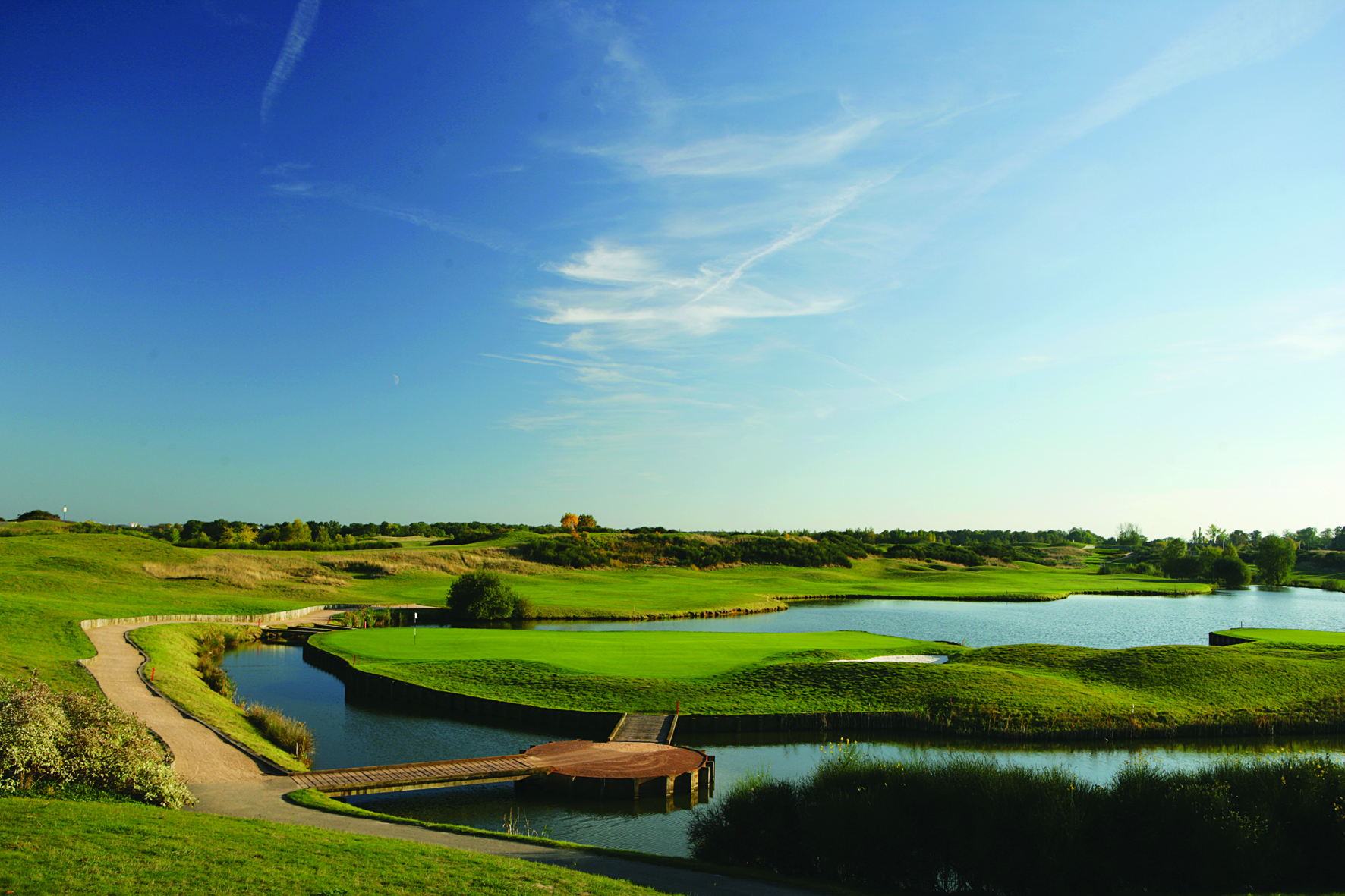 The biennial match will be held on its spectacular L'Albatros course.
