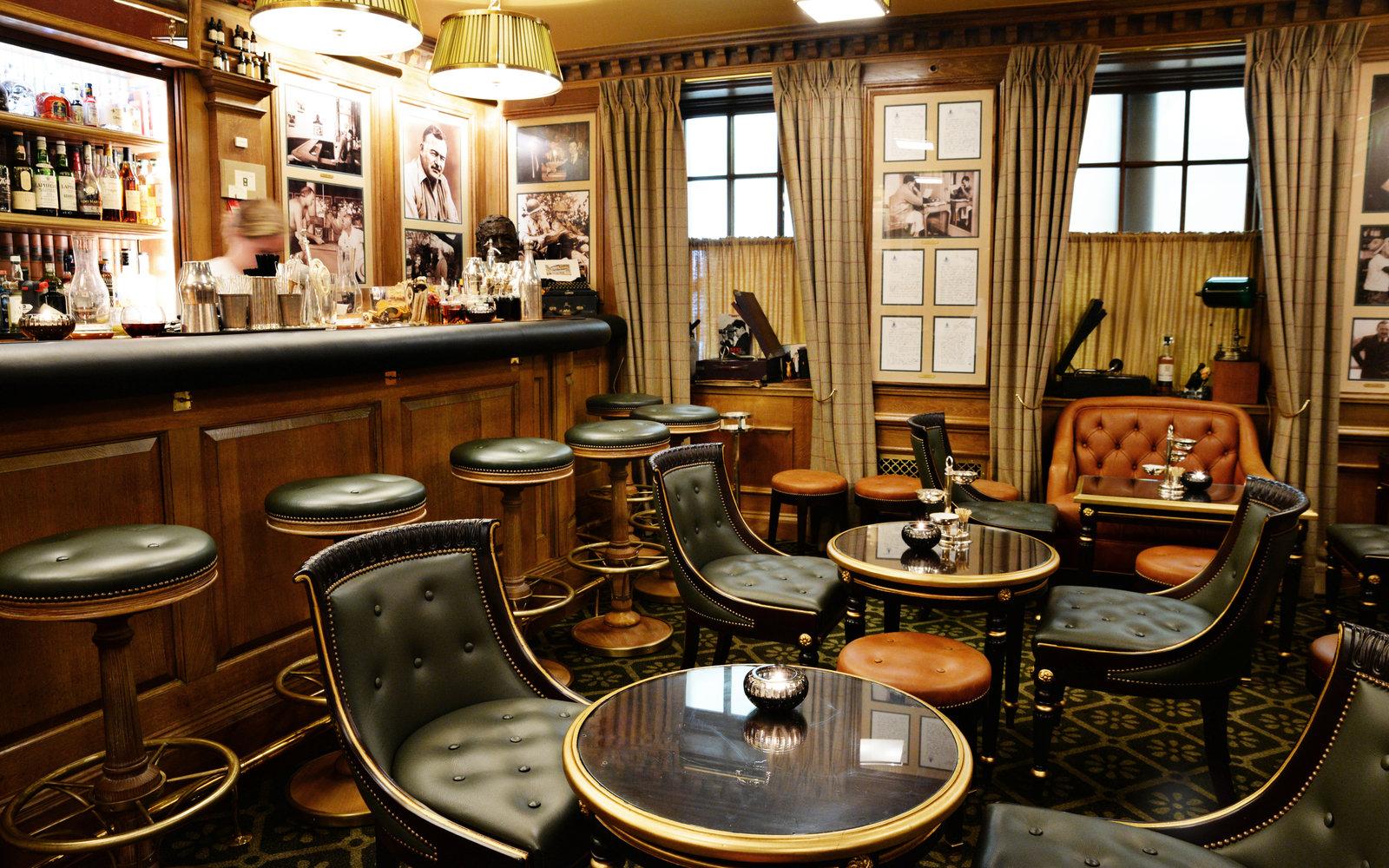 Bar Hemingway at the Ritz.