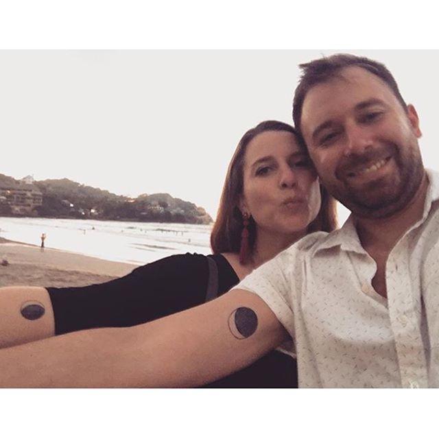 becca and james not on their honeymoon . . .  #handpoked #tattoo #stickandpoke #denvertattoo #love