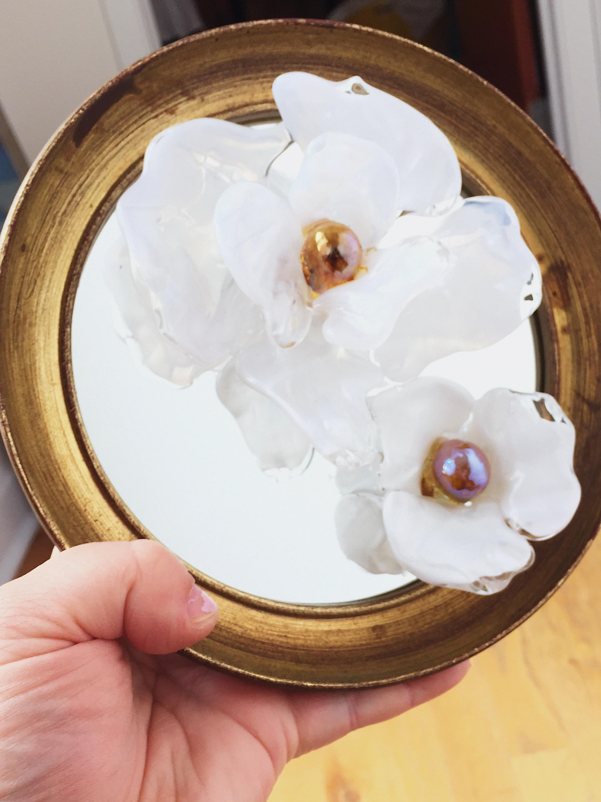 """GARDEN ROSE MIRROR ROUND - <a href=""""/shop-mirrors/garden-rose-mirror-round"""">AVAILABLE</a>"""