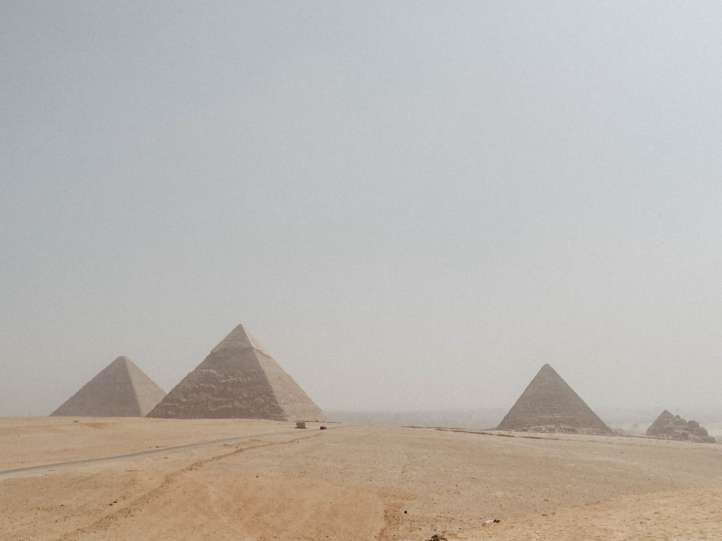 Pyramids: - One of the BEST experiences I've had.  I was just in awe and couldn't believe I was finally there.  It looked like a Hollywood backdrop, it was surreal.  The only downside was my damn tour guide wouldn't let us leave him to explore without giving us