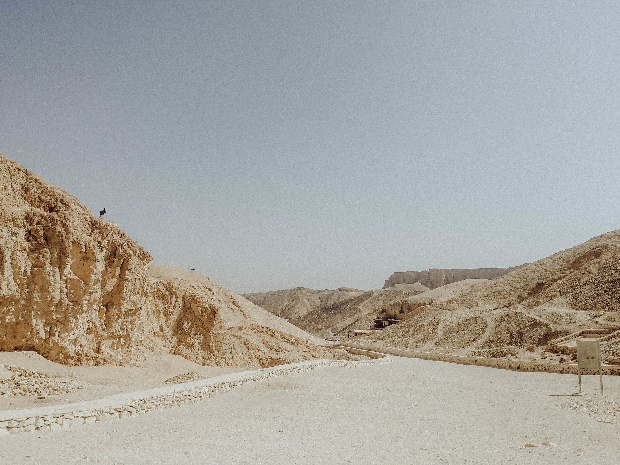 Valley of the Kings - It was located in the mountains and was cool but not as much as I thought it would be. Definitely go see it though, there are many tombs of various pharaohs you can enter.