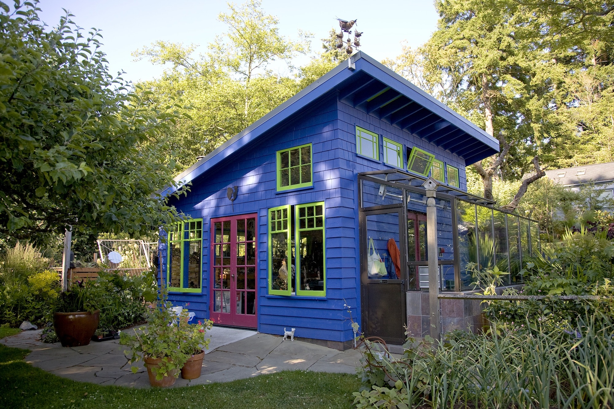 Our First Project - 13 years ago, we took on our first project as Crescent Builds. We knew we had a passion for creating beautiful spaces for people to live and work in, and we wanted that passion to be reflected in our work. We started with a custom designed and built craftsman garden shed, with bold lines, bright colors, and a lot of character. Since that first project we have grown, and now, after more than 10 years in business, we look back on our first project and realize that while our team has grown and changed, our passion for the work we do is still as strong as it ever was.
