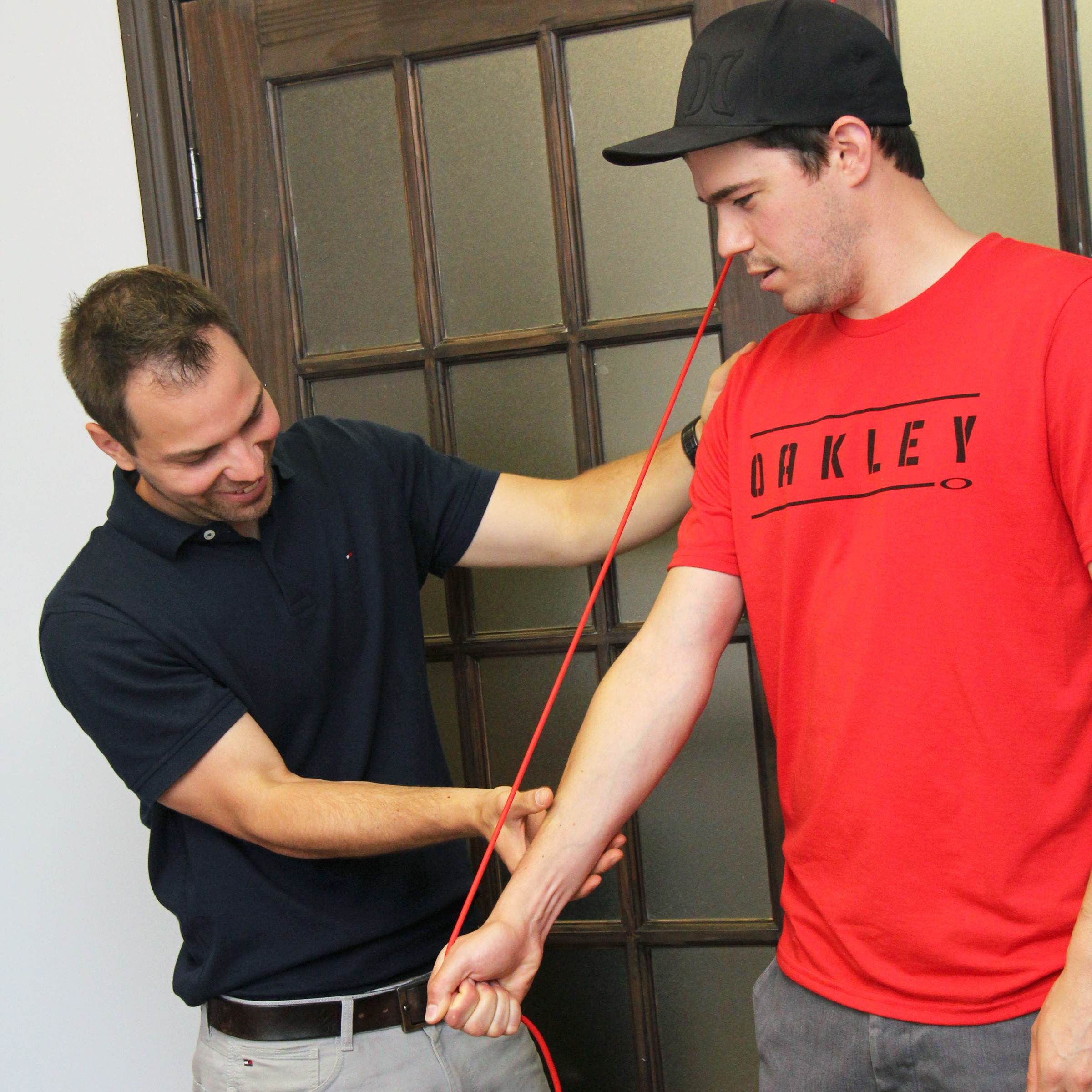 Recommandations d'exercices   Avec leurs connaissances avancées de la biomécanique, vos chiropraticiens sont en mesure de vous recommander des exercices pertinents pour votre condition.
