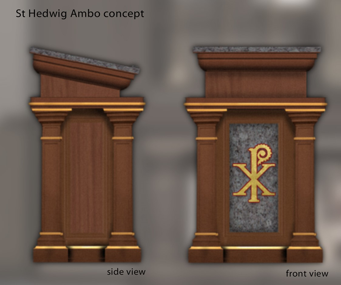 St. Hedwig Ambo concept