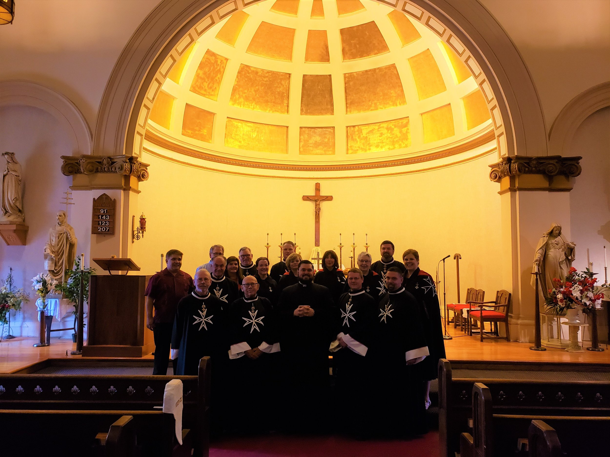 Kings of Malta at St. Clement