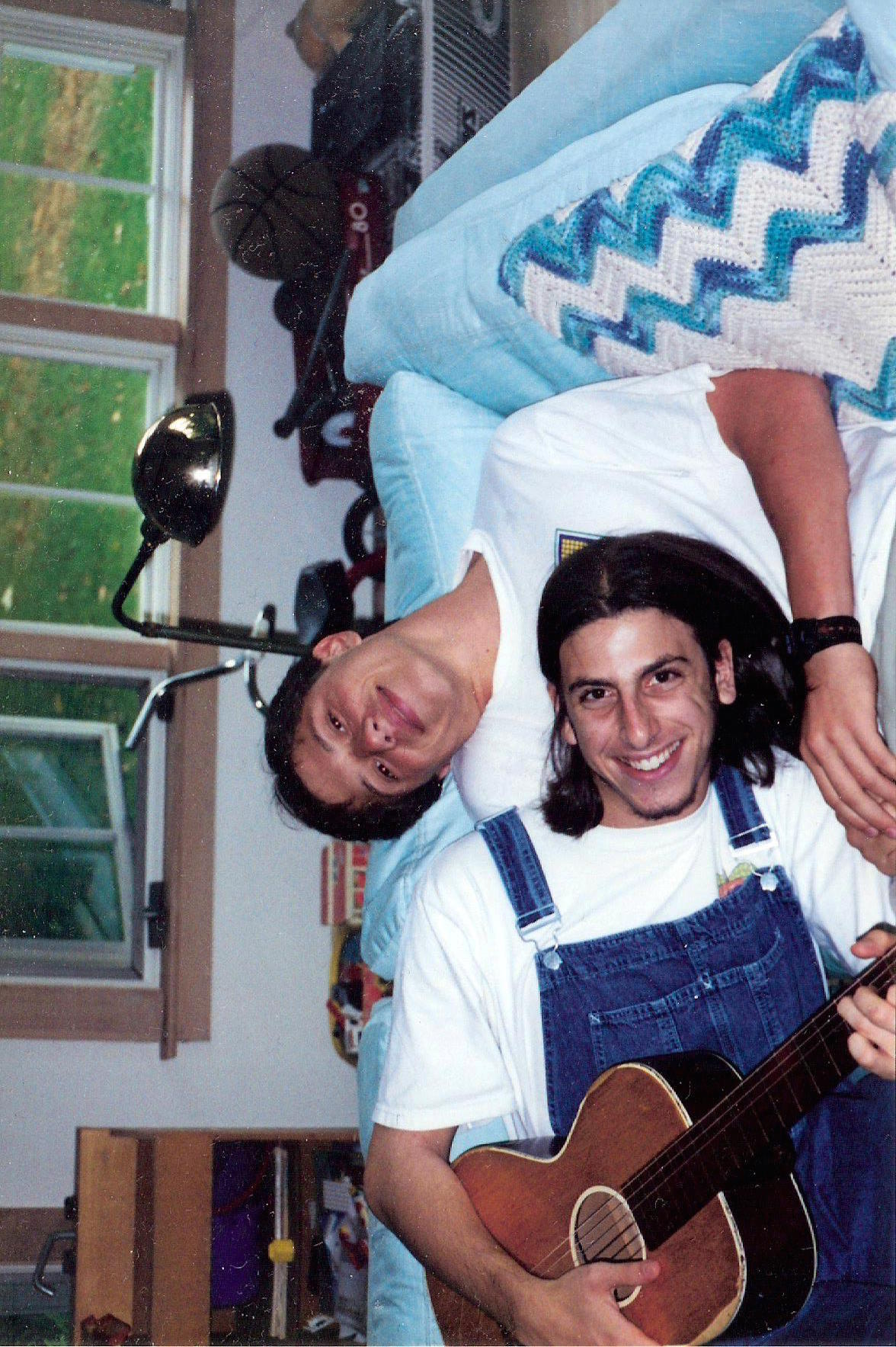 Mike with hair and overalls.jpg