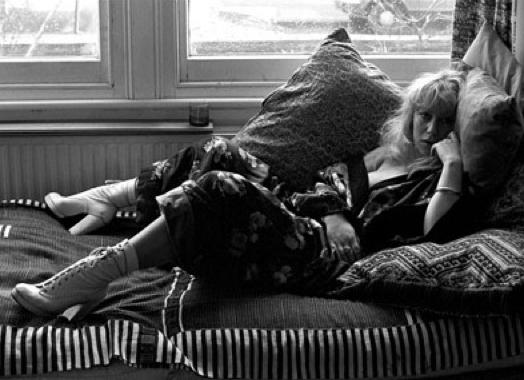 Helen Mirren in 1974: she's been cast as an intellectual vixen since her teens. Photo courtesy of REX