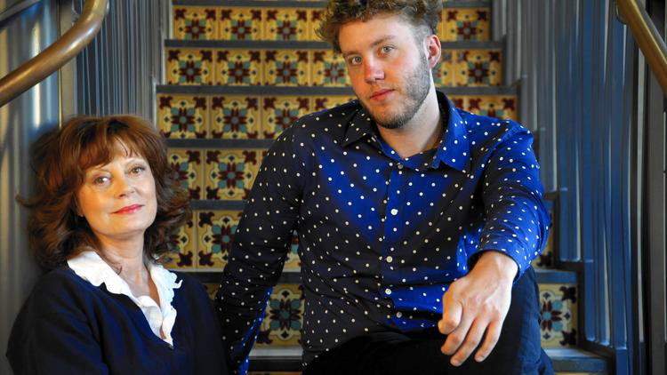 """Susan Sarandon and her son Jack Henry Robbins have produced and directed a series of documentaries on the homeless titled """"Storied Streets."""" (Michael Robinson Chavez / Los Angeles Times)"""