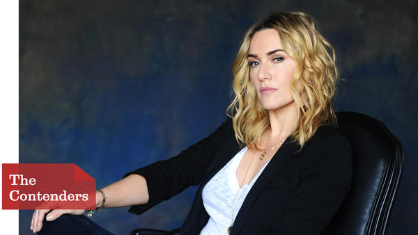 """Kate Winslet talked extensively with Joanna Hoffman, the woman she plays in """"Steve Jobs,"""" to master her accent. (Christina House / For The Times)"""