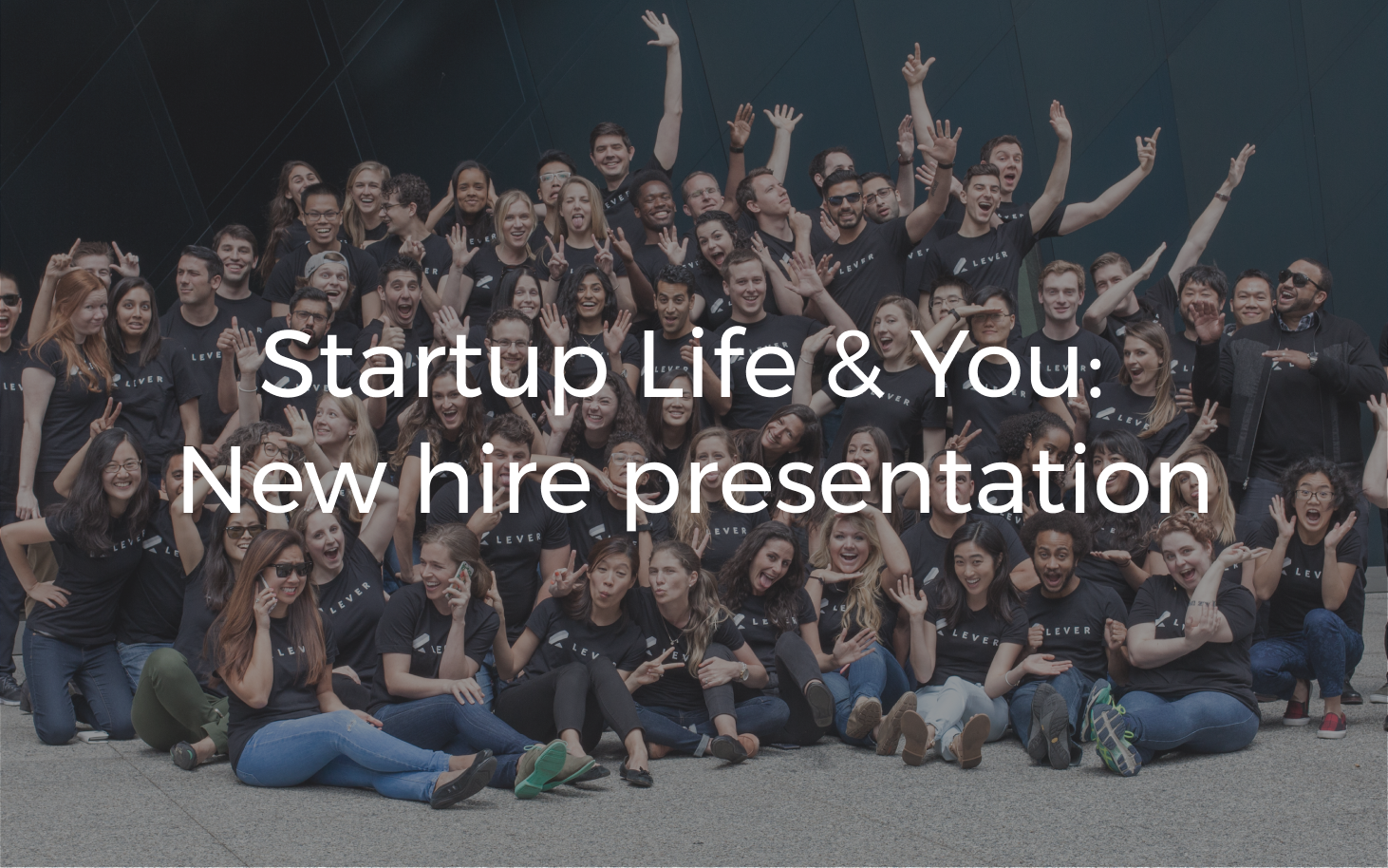 There are SO many things I wish I knew when I first started in tech. This presentation only scratches the surface, but I believe in setting realistic expectations – we need more of it in startups.