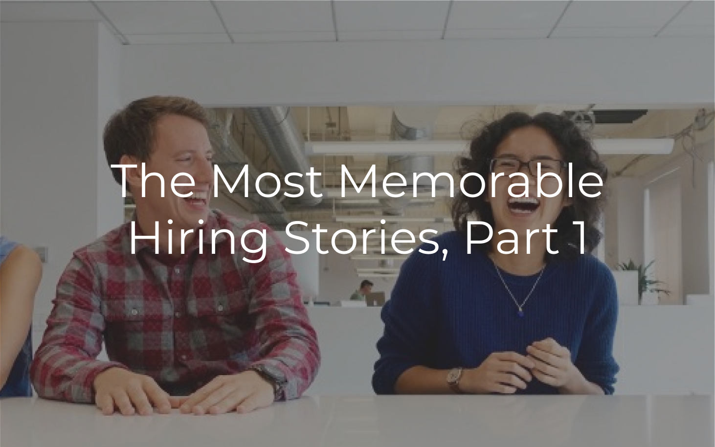Interesting hiring stories are some of *the* most effective, and easy-to-publish content that delivers very high ROI.