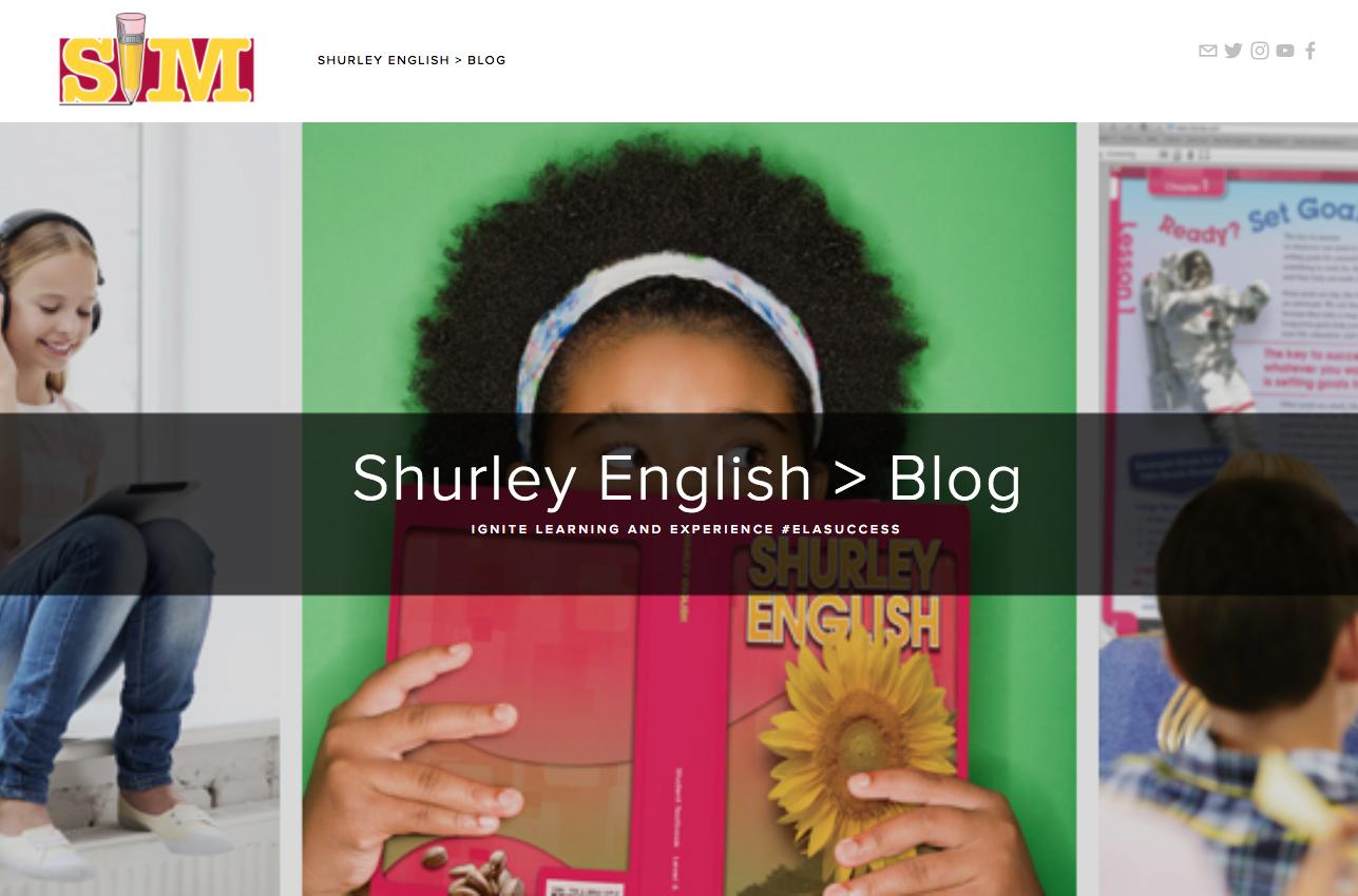 The NEW Shurley English Blog for #ELAsuccess