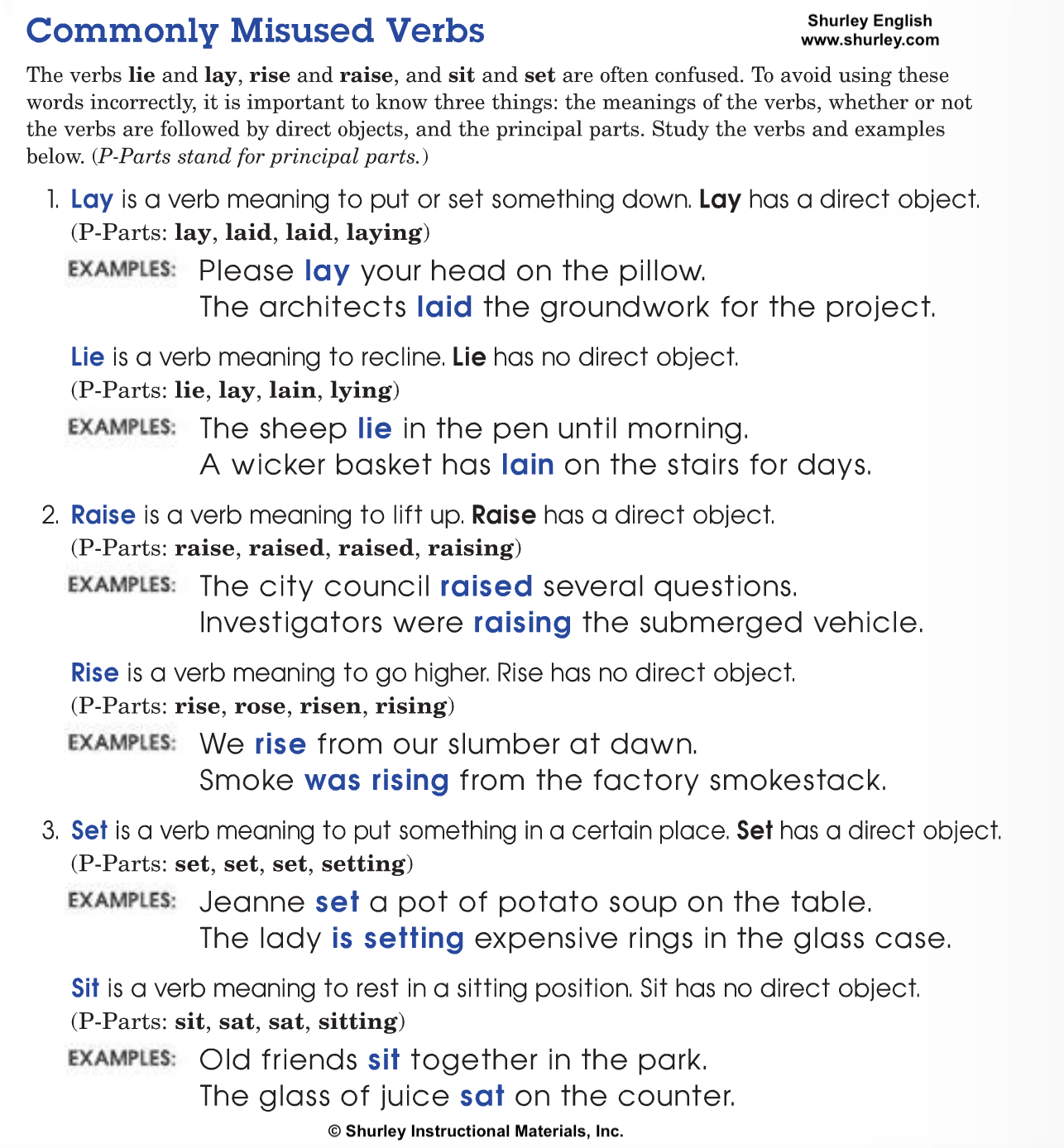 Commonly Misused Verbs Shurley English.png