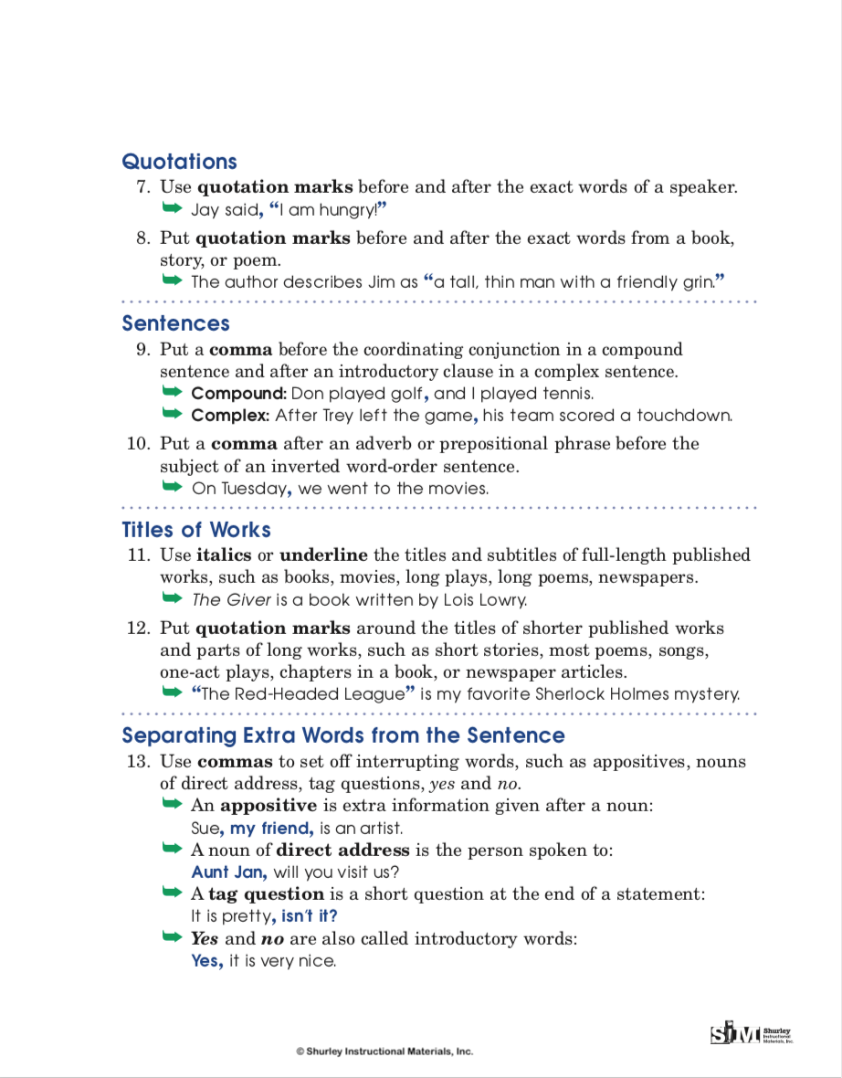Punctuation Rules page 2 from SHurley English.png