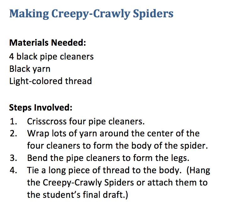 Creepy Crawly Spiders with Shurley ENglish.png