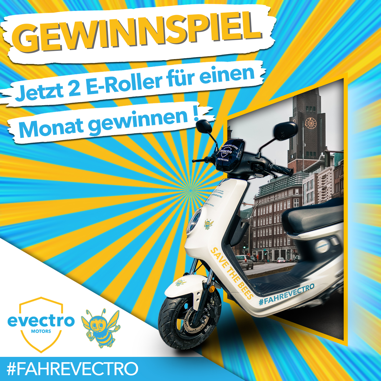 10 E-Roller für 1 Monat zu gewinnen! - Bist du es leid auf Parkplatzsuche zu gehen oder in den überfüllten Bus zu steigen? Dann gewinne jetzt einen schicken E-Roller für einen Sommermonat!
