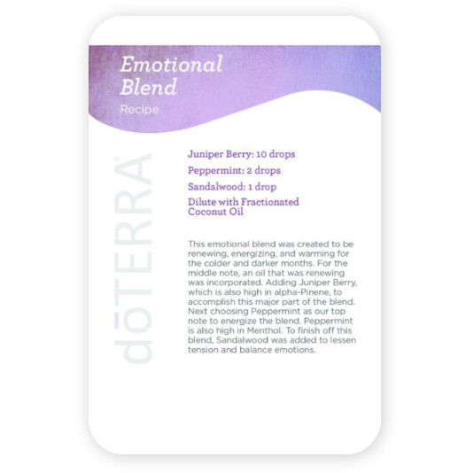 Essential Oils and Personal Care Recipe Cards