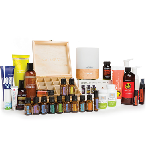 essential oils kits and collections