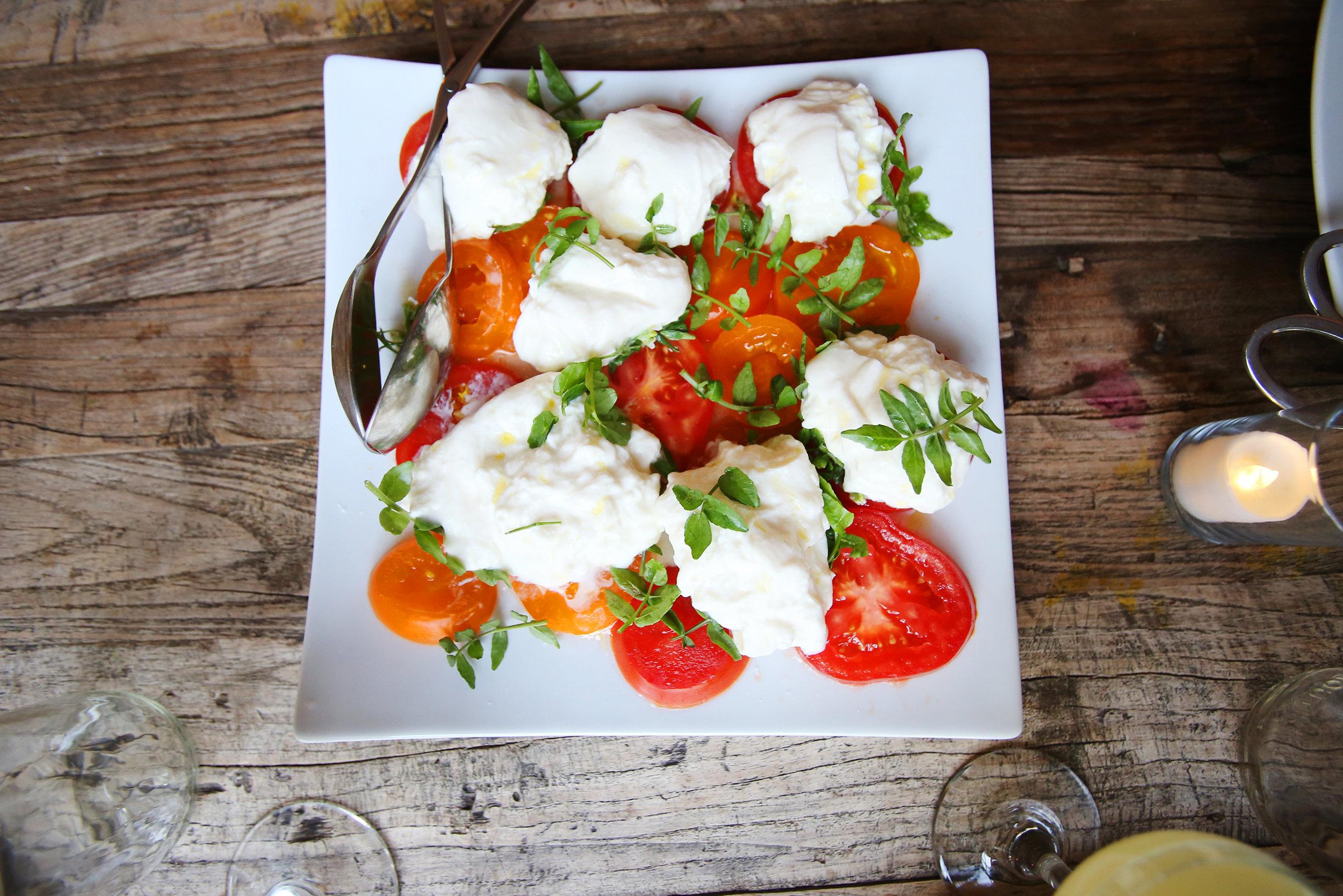 Tomato and burrata salad.JPG