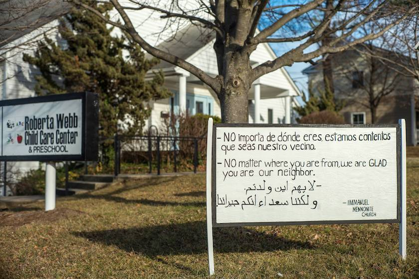 Photo by  Immanuel Mennonite Church via  Welcome Your Neighbors