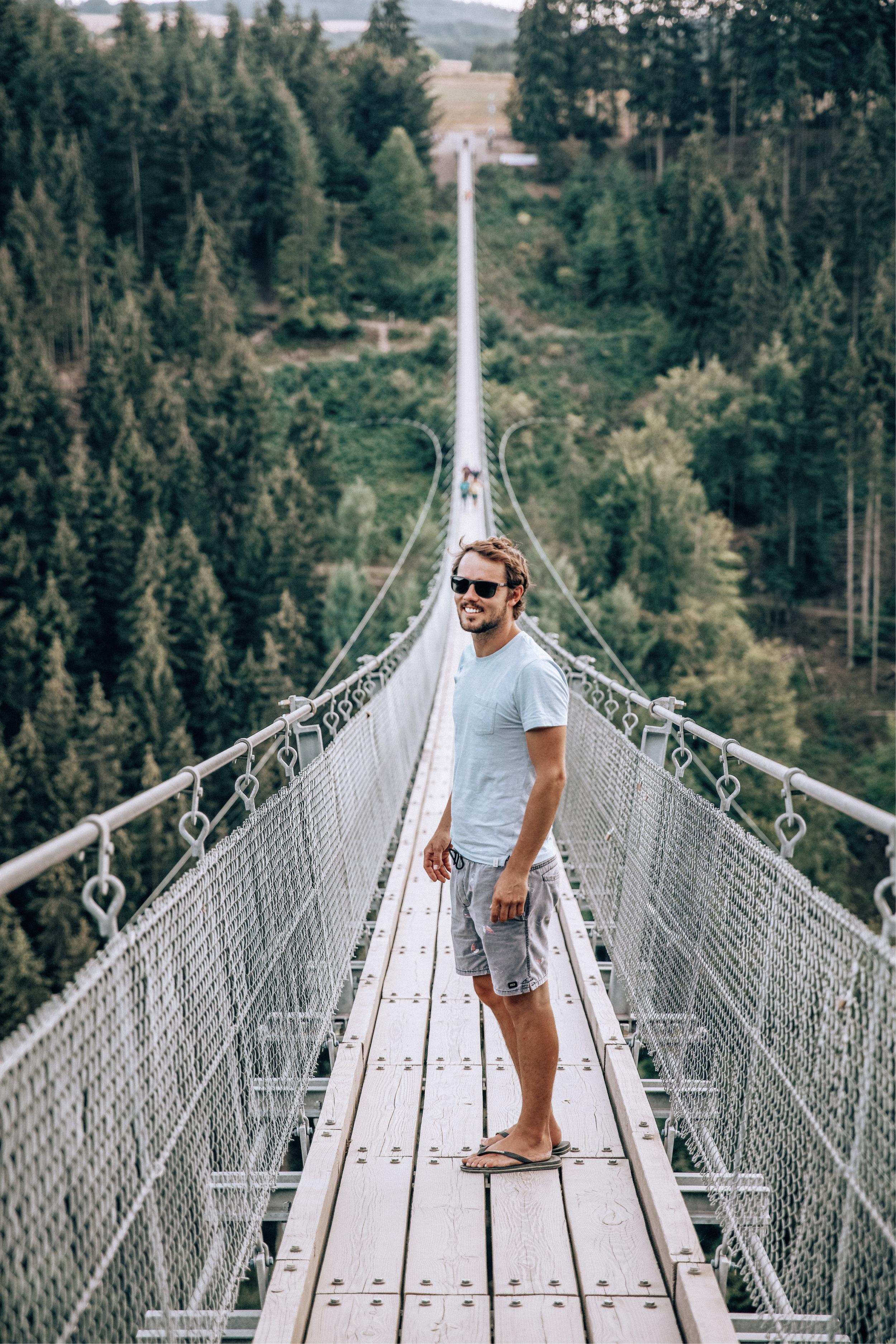 Bridge Geierlay   Germany — The Wondering Dreamer Blogger   The ...
