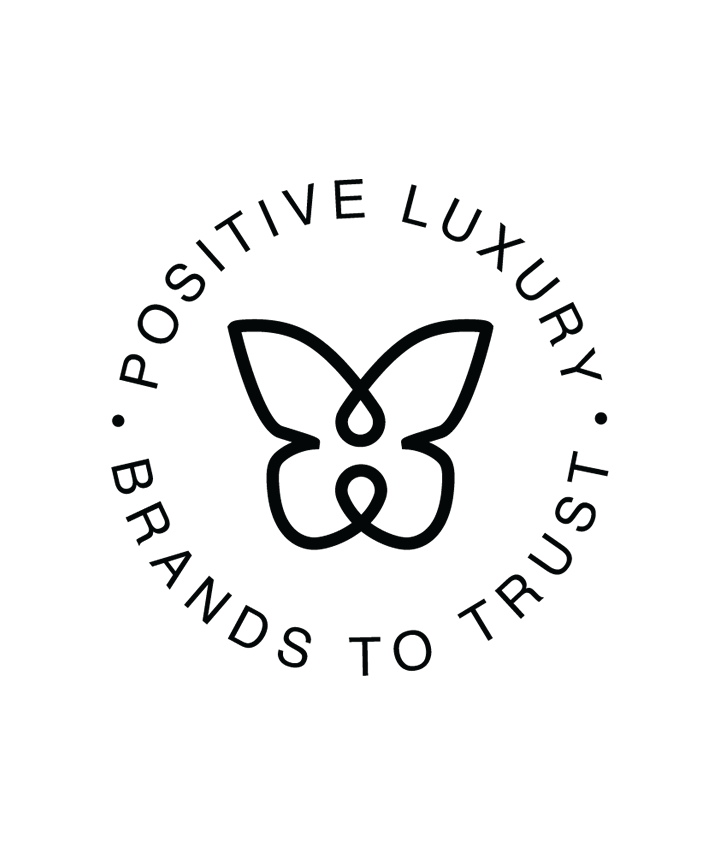 SALT - Proudly wear their butterfly badge – it means that Positive Luxury define us as a genuinely responsible brand.