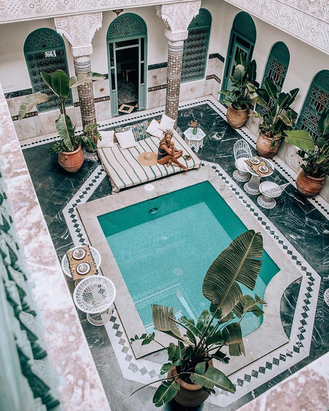 Please tell me why we don't have Riads / houses like this in England? 💭😍 ...
