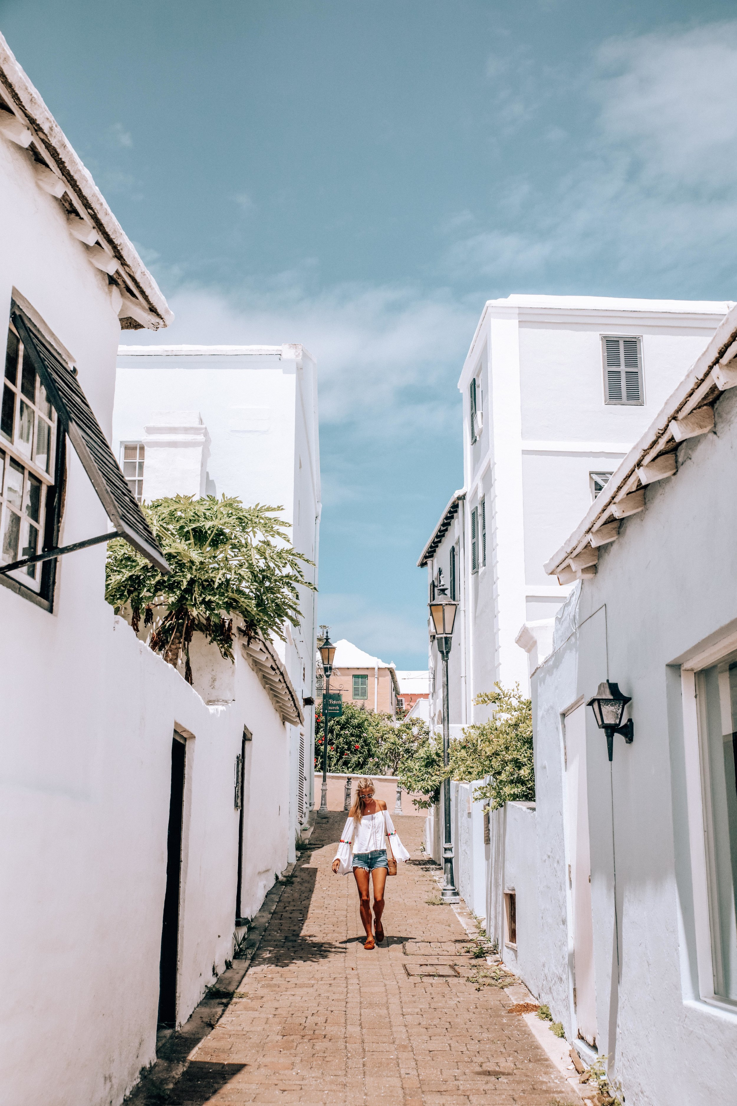 Instagram heaven! - My favourite alley in St. George's, make sure you keep an eye out for it!
