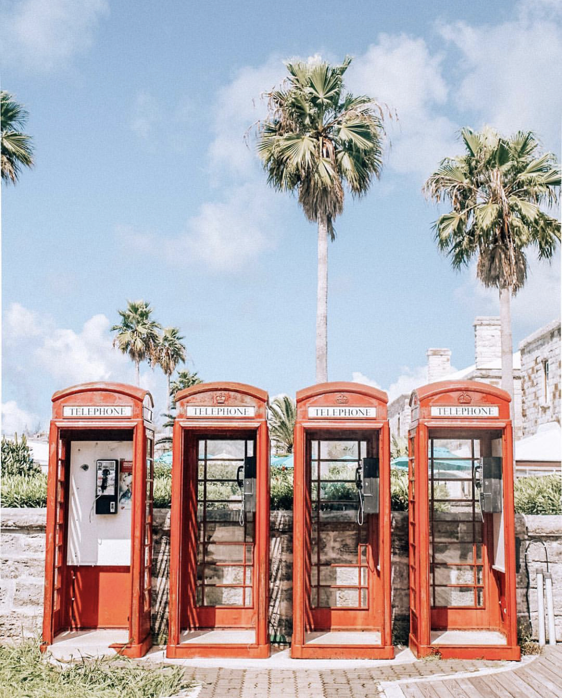Touch of England.. - These phone boxes are in The Navel Dockyard - which is definitely worth a visit.