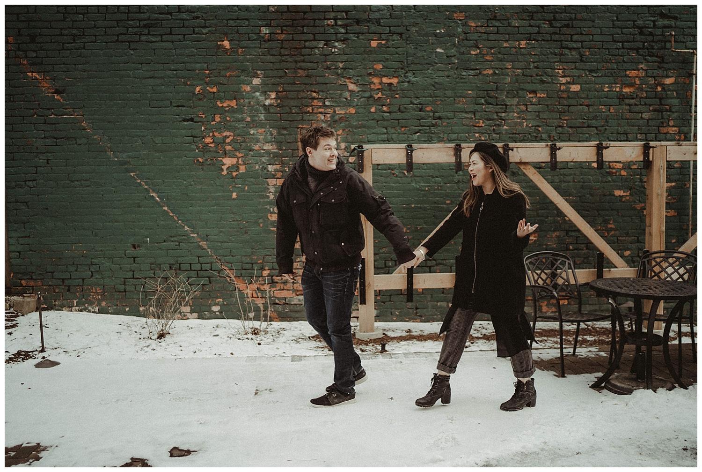 Katie Marie Photography | Hamilton Ontario Wedding Photographer | Hamilton Engagement Session | HamOnt | Dundas Peak | Dundas Ontario | Winter Engagement Session_0006.jpg