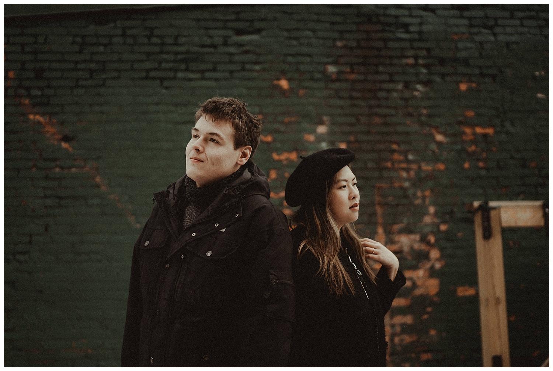 Katie Marie Photography | Hamilton Ontario Wedding Photographer | Hamilton Engagement Session | HamOnt | Dundas Peak | Dundas Ontario | Winter Engagement Session_0011.jpg