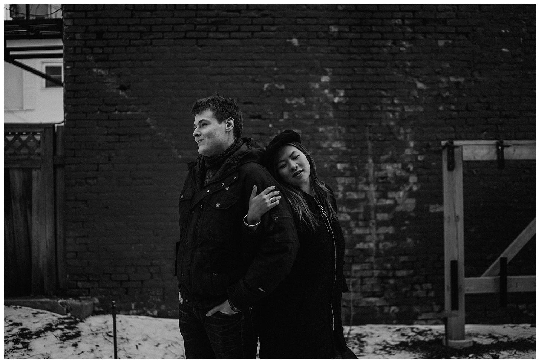 Katie Marie Photography | Hamilton Ontario Wedding Photographer | Hamilton Engagement Session | HamOnt | Dundas Peak | Dundas Ontario | Winter Engagement Session_0012.jpg