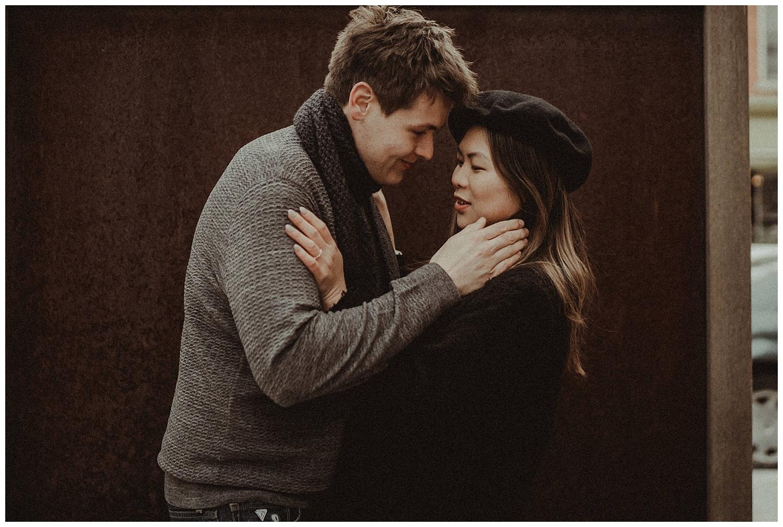 Katie Marie Photography | Hamilton Ontario Wedding Photographer | Hamilton Engagement Session | HamOnt | Dundas Peak | Dundas Ontario | Winter Engagement Session_0015.jpg
