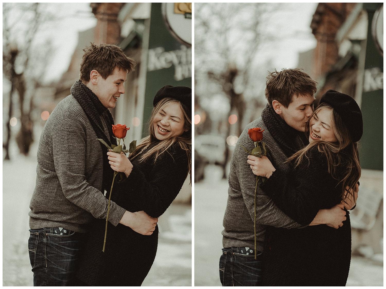 Katie Marie Photography | Hamilton Ontario Wedding Photographer | Hamilton Engagement Session | HamOnt | Dundas Peak | Dundas Ontario | Winter Engagement Session_0027.jpg
