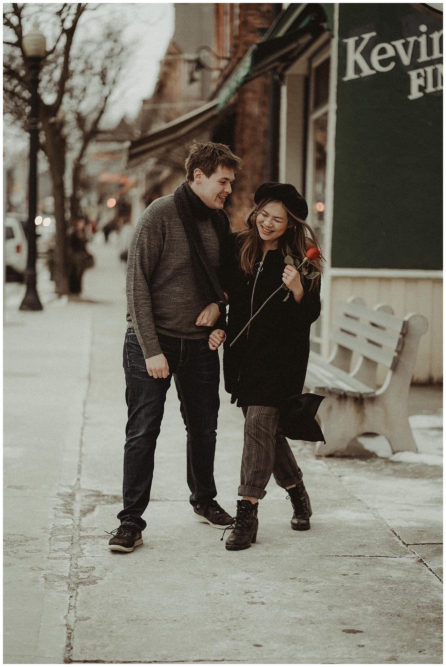 Katie Marie Photography | Hamilton Ontario Wedding Photographer | Hamilton Engagement Session | HamOnt | Dundas Peak | Dundas Ontario | Winter Engagement Session_0026.jpg