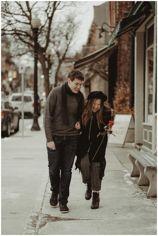 Katie Marie Photography | Hamilton Ontario Wedding Photographer | Hamilton Engagement Session | HamOnt | Dundas Peak | Dundas Ontario | Winter Engagement Session_0028.jpg