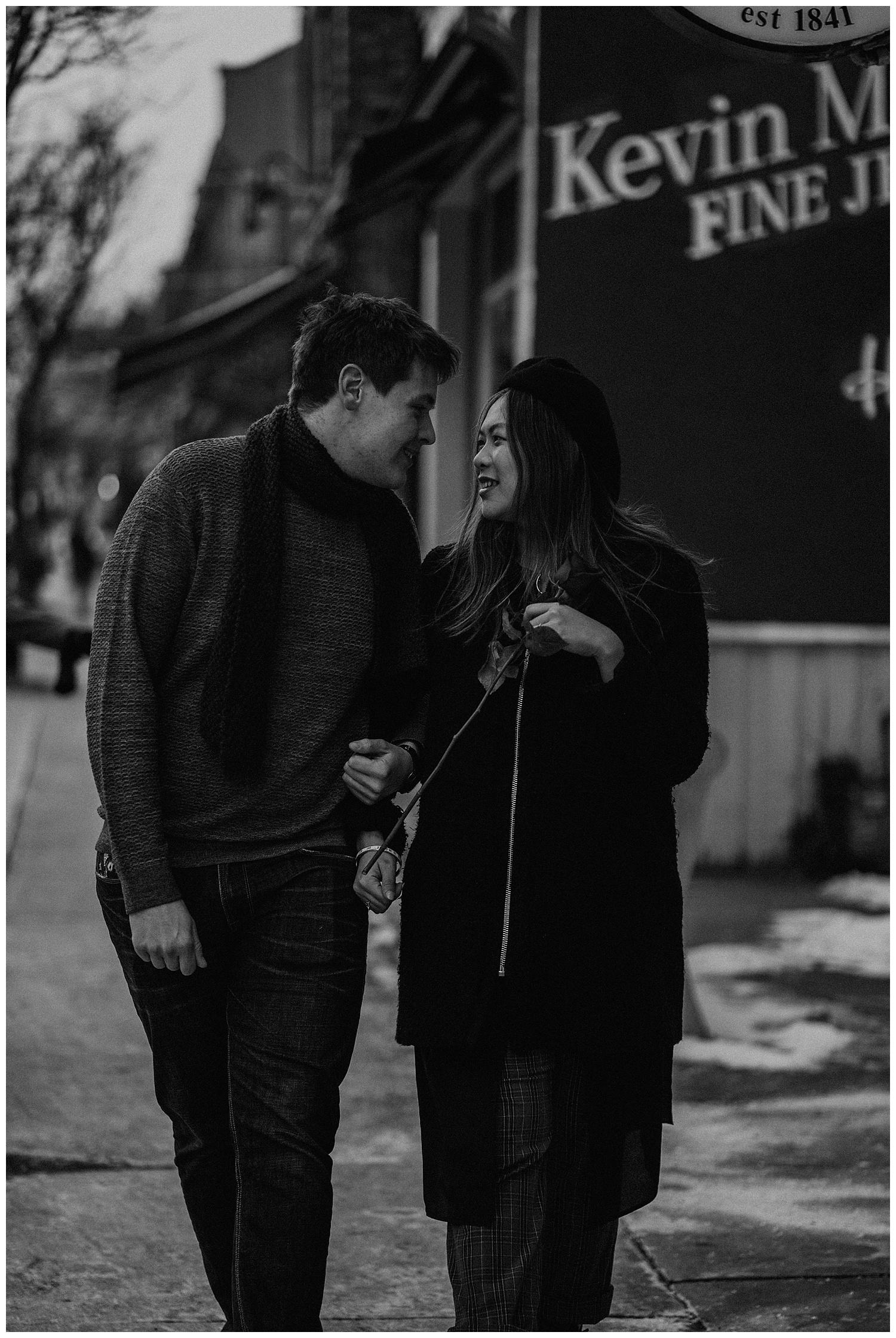 Katie Marie Photography | Hamilton Ontario Wedding Photographer | Hamilton Engagement Session | HamOnt | Dundas Peak | Dundas Ontario | Winter Engagement Session_0029.jpg