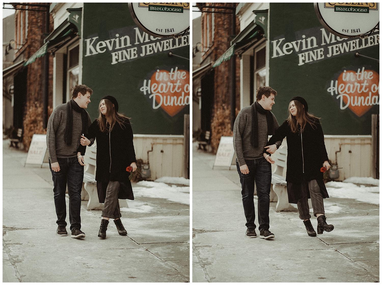 Katie Marie Photography | Hamilton Ontario Wedding Photographer | Hamilton Engagement Session | HamOnt | Dundas Peak | Dundas Ontario | Winter Engagement Session_0030.jpg