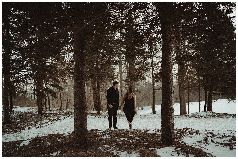 Katie Marie Photography | Hamilton Ontario Wedding Photographer | Hamilton Engagement Session | HamOnt | Dundas Peak | Dundas Ontario | Winter Engagement Session_0041.jpg