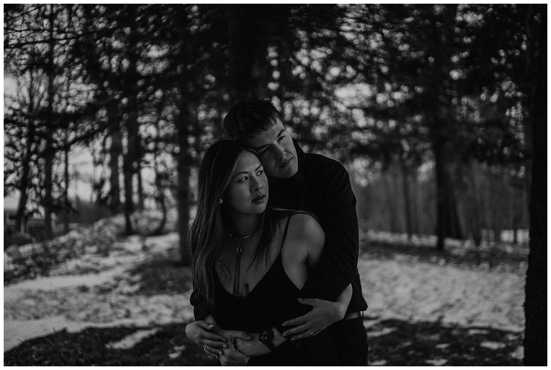 Katie Marie Photography | Hamilton Ontario Wedding Photographer | Hamilton Engagement Session | HamOnt | Dundas Peak | Dundas Ontario | Winter Engagement Session_0046.jpg