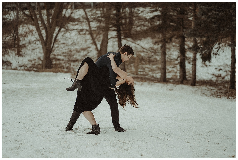 Katie Marie Photography | Hamilton Ontario Wedding Photographer | Hamilton Engagement Session | HamOnt | Dundas Peak | Dundas Ontario | Winter Engagement Session_0058.jpg