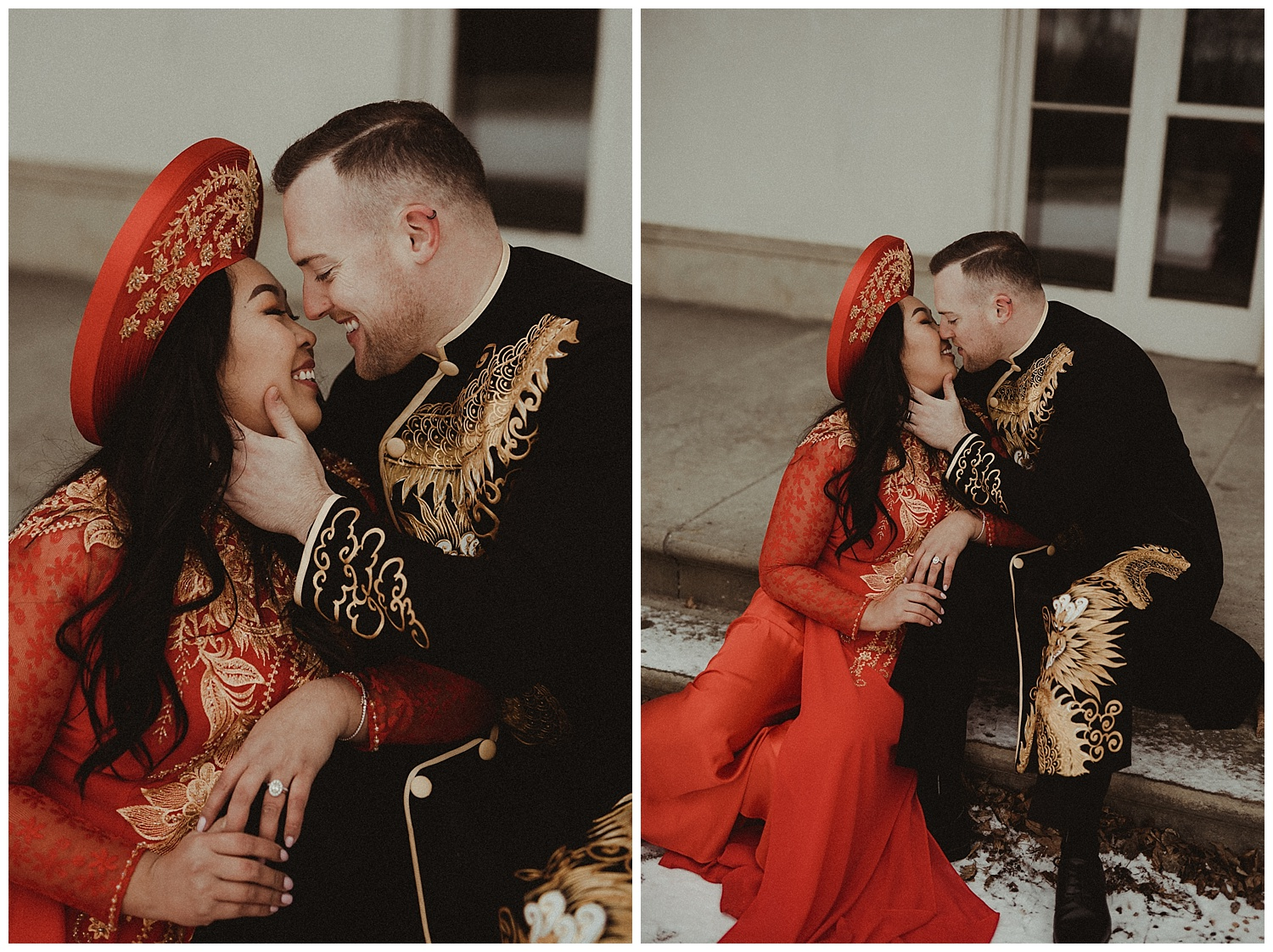 Katie Marie Photography | Hamilton Ontario Wedding Photographer | Hamilton Engagement Session | HamOnt | Vietnamese Engagement Session | Traditional Outfit Engagement Session | Dundurn Castle_0020.jpg