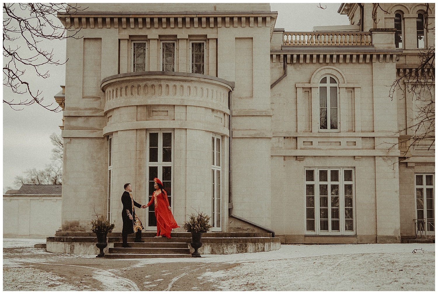 Katie Marie Photography | Hamilton Ontario Wedding Photographer | Hamilton Engagement Session | HamOnt | Vietnamese Engagement Session | Traditional Outfit Engagement Session | Dundurn Castle_0023.jpg